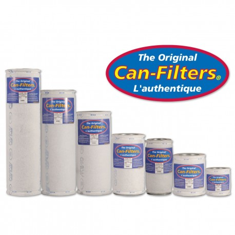 CARBON FILTER CAN FILTER 250M3H 125X350MM