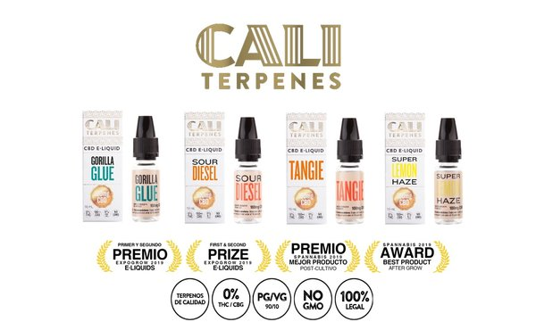 CALI TERPENES E-LIQUID GORILLA GLUE 100 MG CBD (10 ML)